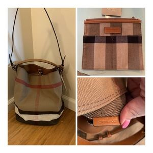 75d706326438 Burberry Bags - Authentic Burberry Ashby Bucket Bag
